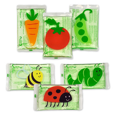 Green Sprouts Lunch Chillers - Garden Pattern - 3 Pack