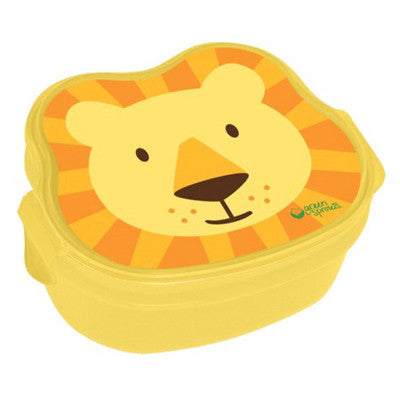 Green Sprouts Safari Bento Box - Yellow Lion