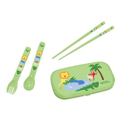 Green Sprouts Safari Utensil Set