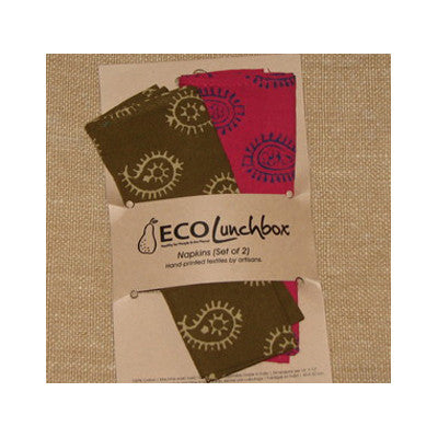 ECOlunchbox Econapkins - Set of 2 napkins