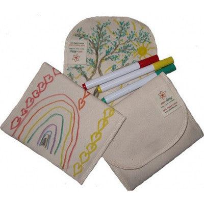Organic Sandwich Bag - Color Your Own