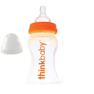 Thinkbaby Baby Bottle with Stage A Nipple (0-6 Months) - 9 oz