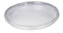 Universal Clear Compostable Lid for Round Deli Containers, 8oz to 32oz.  500 units per case.