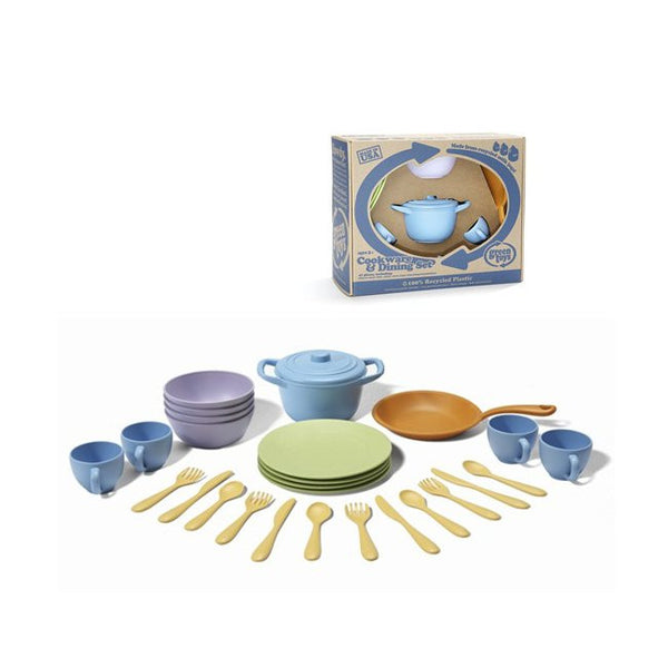 Green Toys Cookware and Dining Set