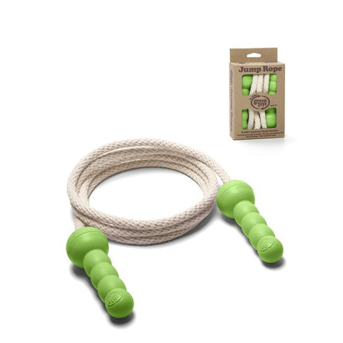 Green Toy Jump Rope in Green