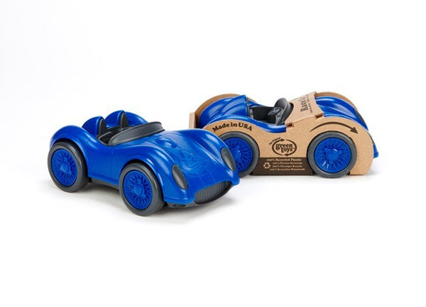 Green Toys Race Car in Blue
