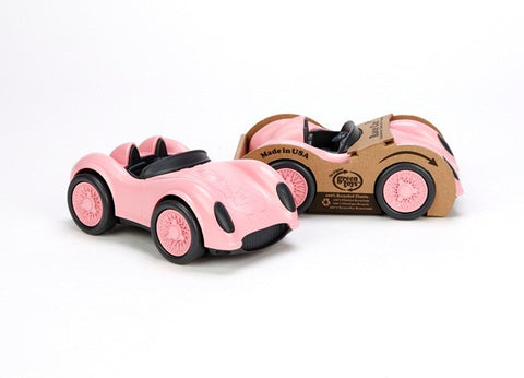 Green Toys Race Car in Pink