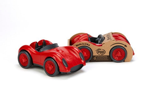 Green Toys Race Car in Red