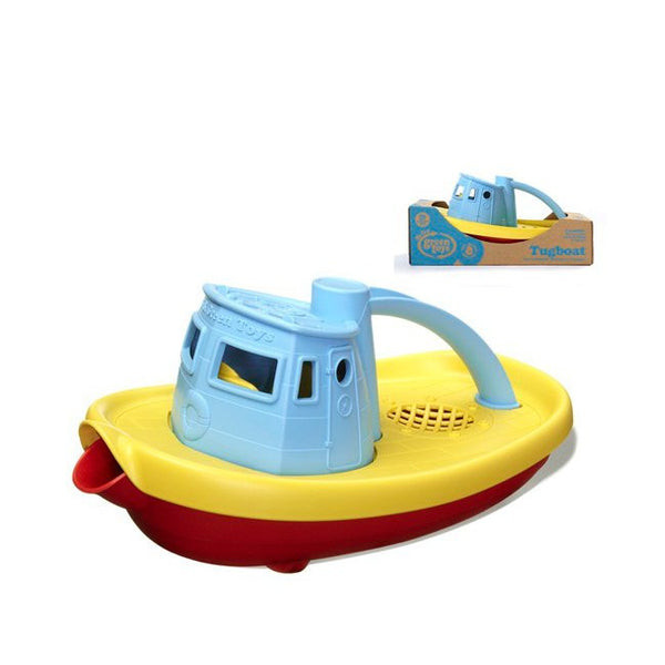 Green Toys Tugboat with Blue top