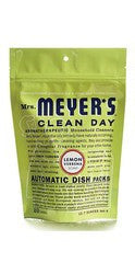 Mrs. Meyers Clean Day Automatic Dishwashing Soap Packs, Lemon Verbena, 12.7 oz.