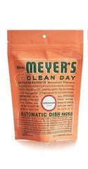 Mrs. Meyers Clean Day Automatic Dishwashing Soap Packs, Geranium, 12.7 oz.