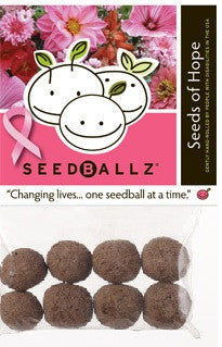SeedBallz, Seeds of Hope, 8 balls per pack.