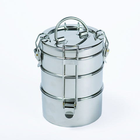 To-Go Ware 3-Tier Stainless Steel Tiffin