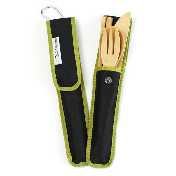 To-Go Ware  RePEaT Bamboo Utensil Set Hijiki