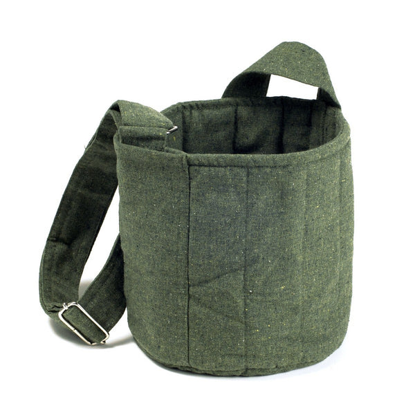 To-Go Ware  2-Tier Cotton Carrier Bag in Forest Green  (fits 2-tier and Classic)