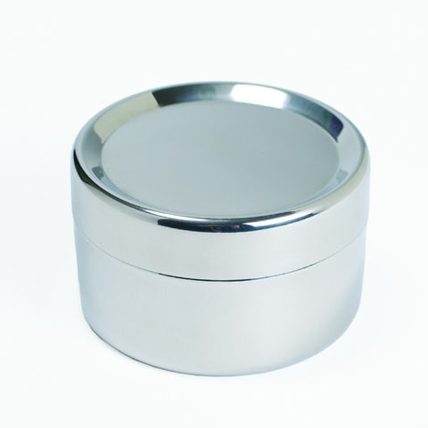 Large Stainless Steel Sidekick  2.25 H x 3.5 D.