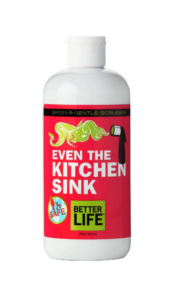 Even the Kitchen Sink, Gentle Scrubber, 16 oz.