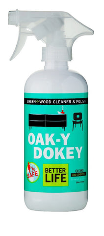 Oak-K-Dokey, Wood Cleaner & Polish, 16 oz.