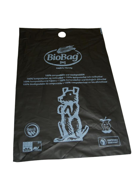 Dog Waste Compost Bio Bags, FULL CASE (50 per Box, 12 Boxes per Case)