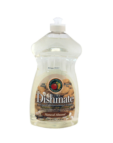 Dishmate Dish Liquid,  Natural Almond , 25 oz.