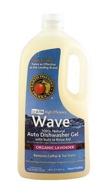 Wave Auto Dishwasher Gel, 40 oz.