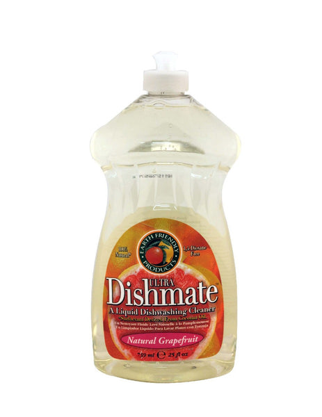 Dishmate Dish Liquid, Grapefruit, 25 oz.