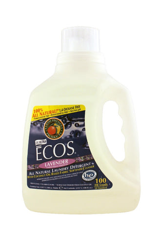 ECOS Lavender Ultra Laundry Liquid, 100 oz.