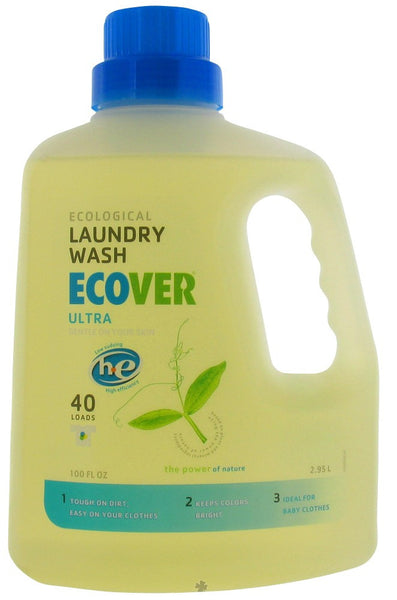 Ultra Liquid Laundry Wash HE 40 loads, 100 oz .