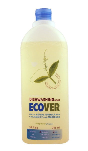 Dishwashing Liquid, Herbal Formula, 32 oz.