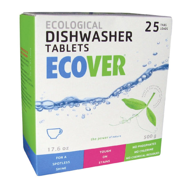Ecological Automatic Dishwasher Tablets, 18 oz.