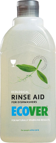 Ecological Rinse Aid, for Dishwashers, 16 oz.