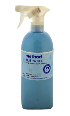 Tub & Tile Spray, Eucalyptus Mint, 28 oz.