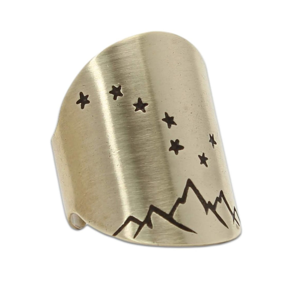 Big Dipper Adjustable Ring, [variant_title], daphne lorna