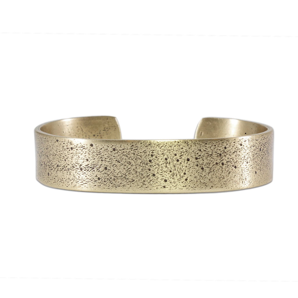 Simple Cuff Bracelet, Antique Brass / women's, daphne lorna