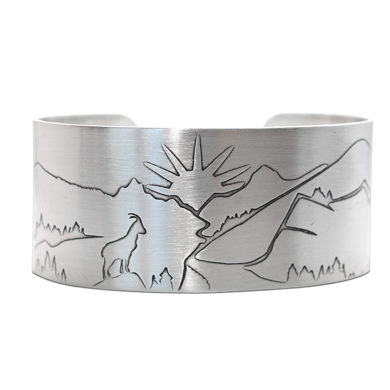 Going to the Sun Road Cuff Bracelet - Daphne Lorna Jewelry
