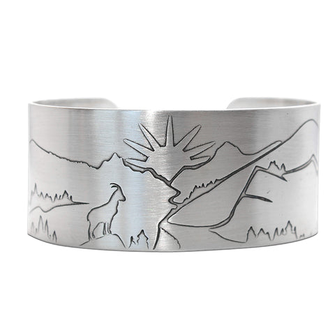 Going to the Sun Cuff Bracelet