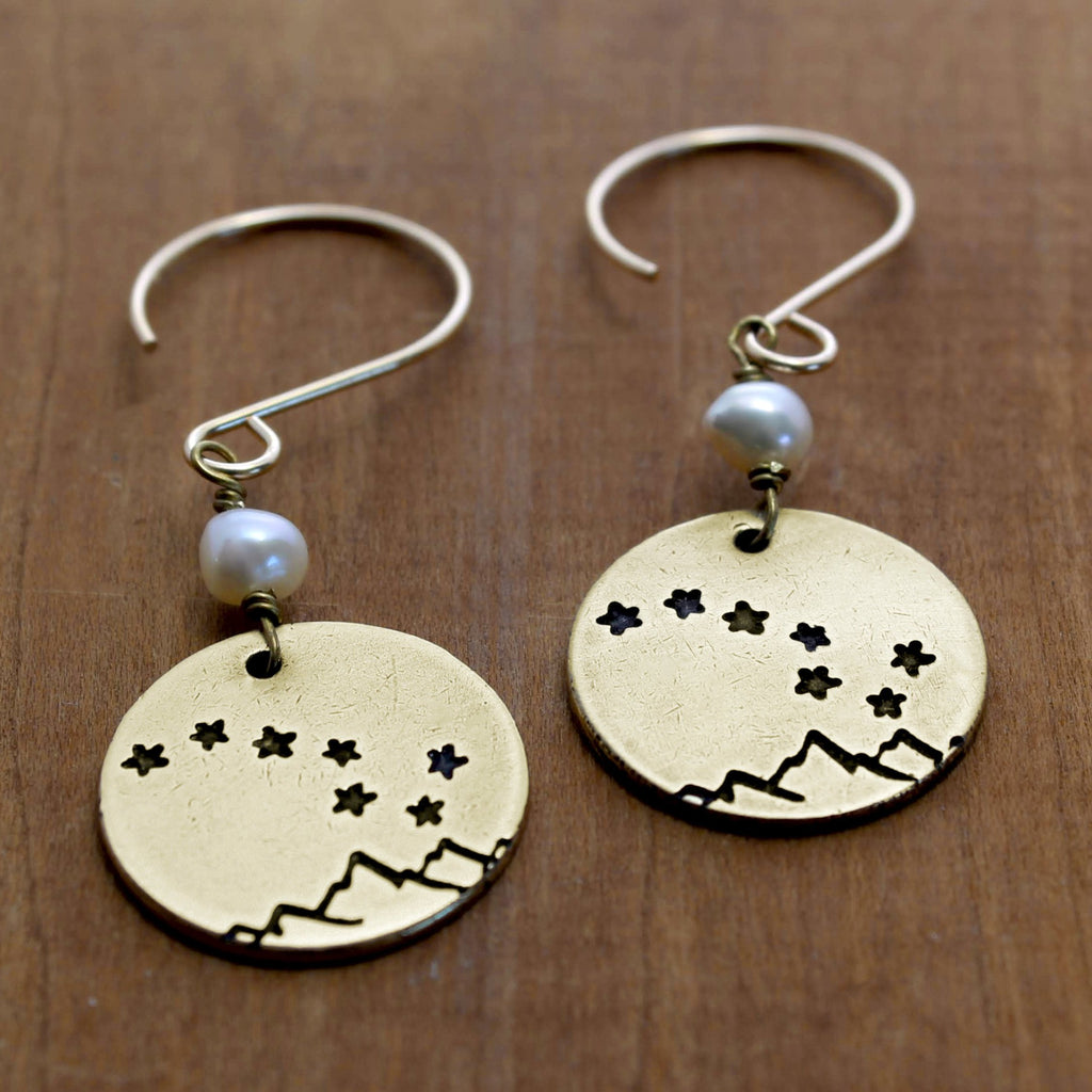 Big Dipper Earrings, [variant_title], Daphne Lorna