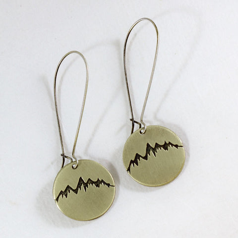 Snowcap Earrings