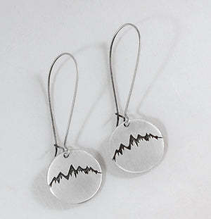 Snowcap Earrings, [variant_title], Daphne Lorna