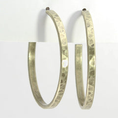 Simple Medium Hoop Earrings - Daphne Lorna Jewelry