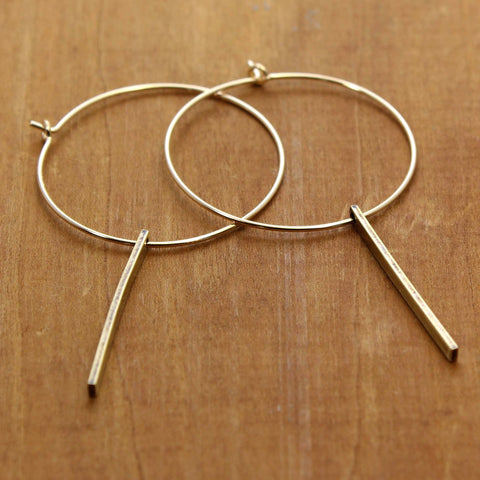 Twigs Hoop Earrings