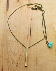 Twig Long Layered Necklace Daphne Lorna