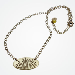 Wheatgrass Window Box Necklace, [variant_title], Daphne Lorna