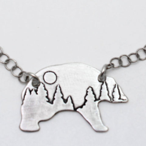 Poya Bear Necklace