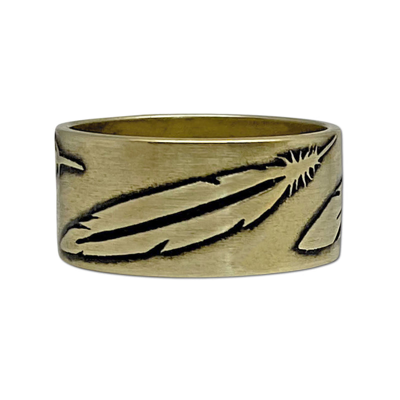 Feather Ring, [variant_title], daphne lorna