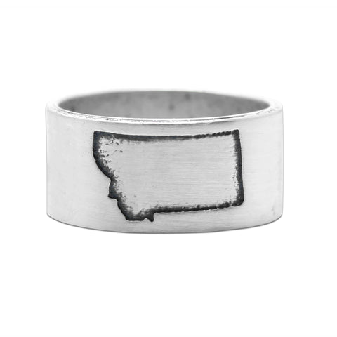 Montana State Outline Ring