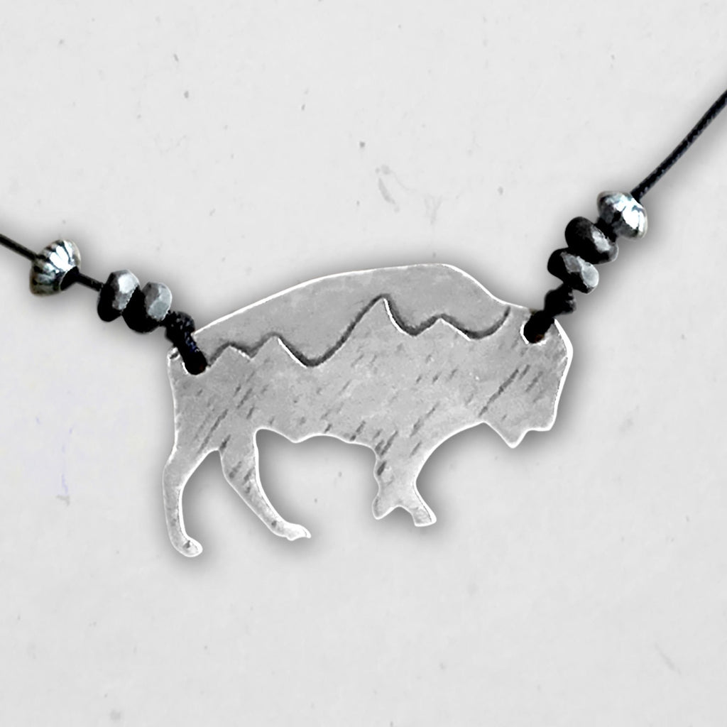 Mountains on Buffalo Necklace, [variant_title], Daphne Lorna