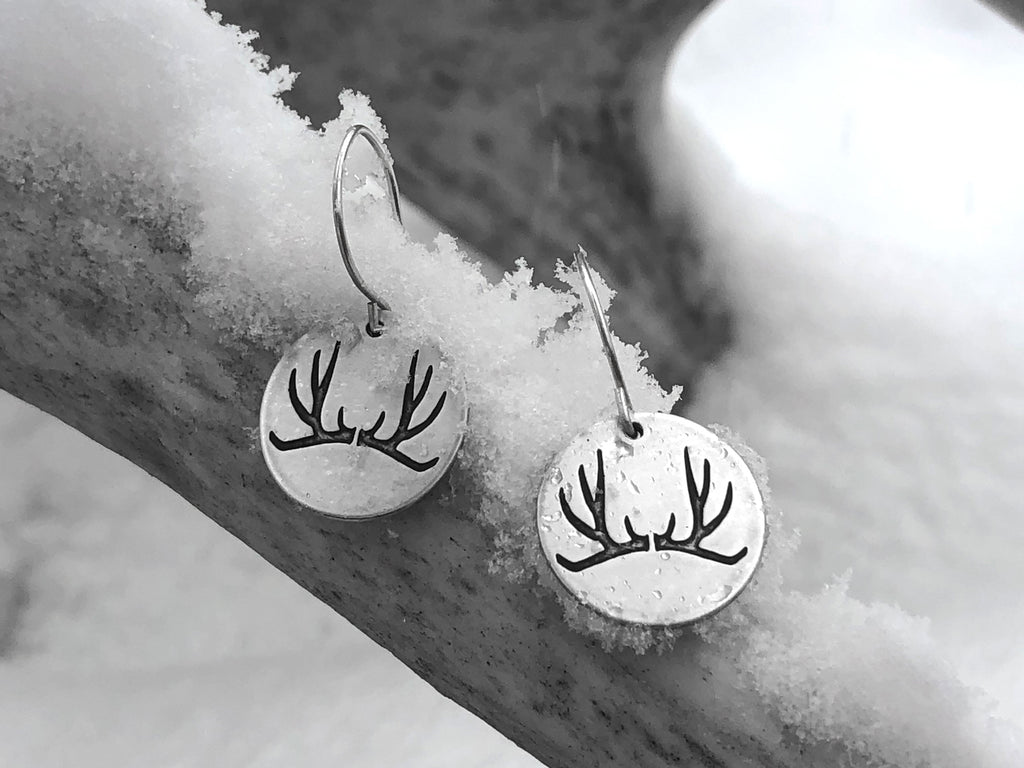 Antler Earrings, [variant_title], Daphne Lorna