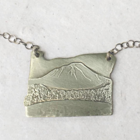 Mt Hood Oregon Necklace