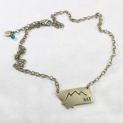 Montana Peaks Necklace, [variant_title], Daphne Lorna